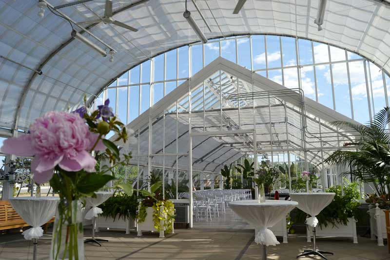 Will Rogers Gardens Ed Lycan Conservatory Weddings Events