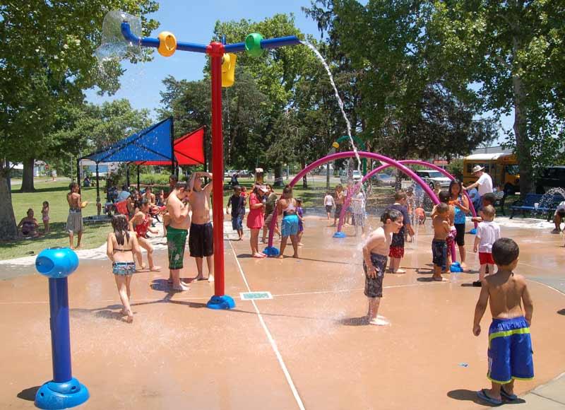 City of okc spraygrounds for Pool show okc