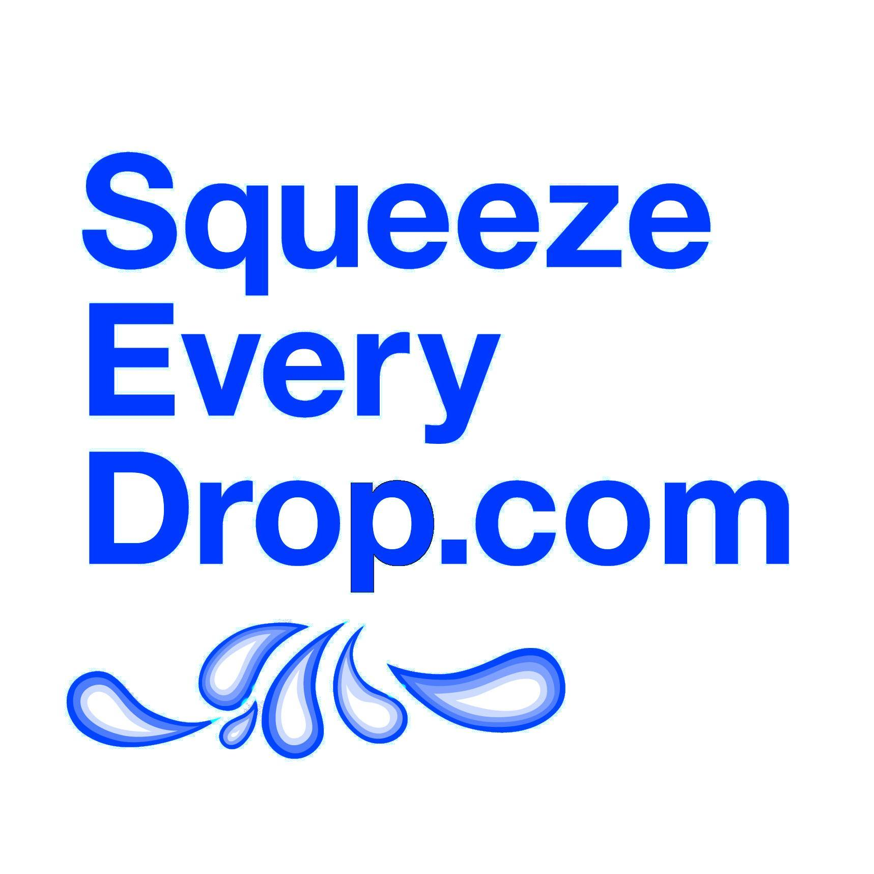 squeeze every drop logo