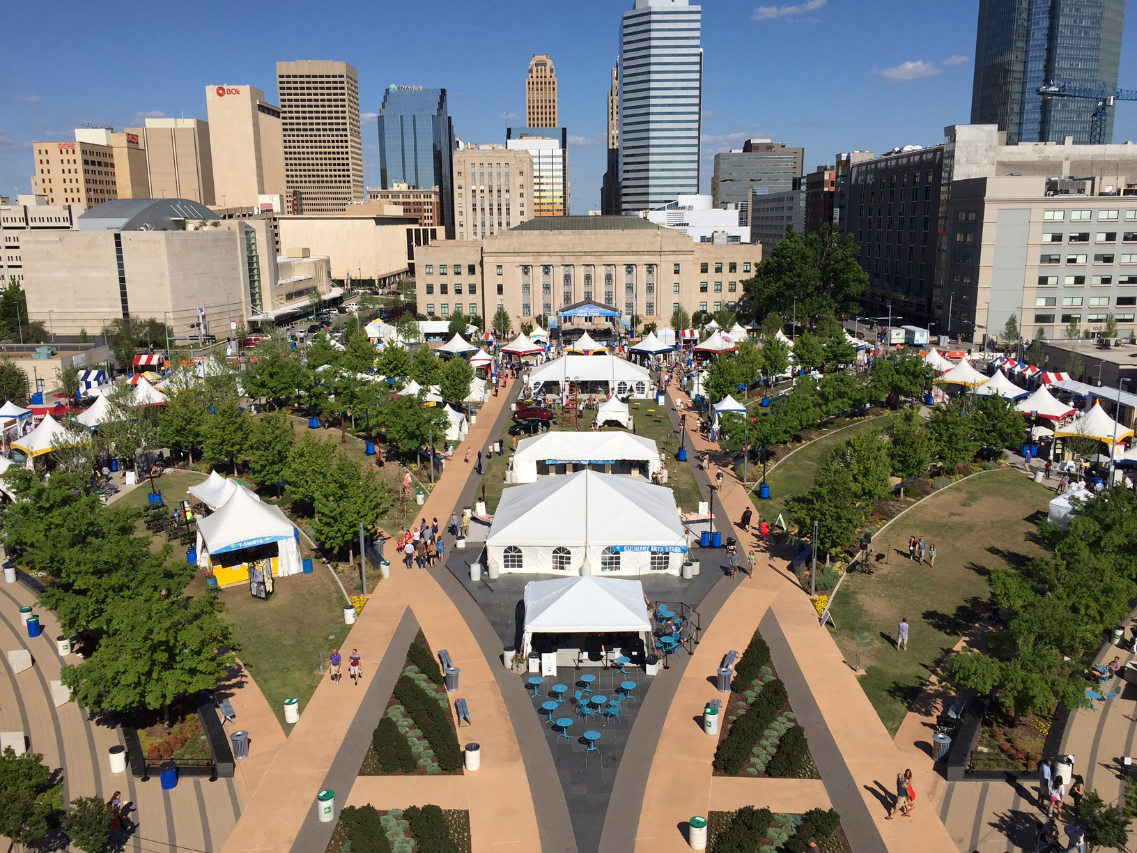 Oklahoma City Festival of the Arts at Bicentennial Park