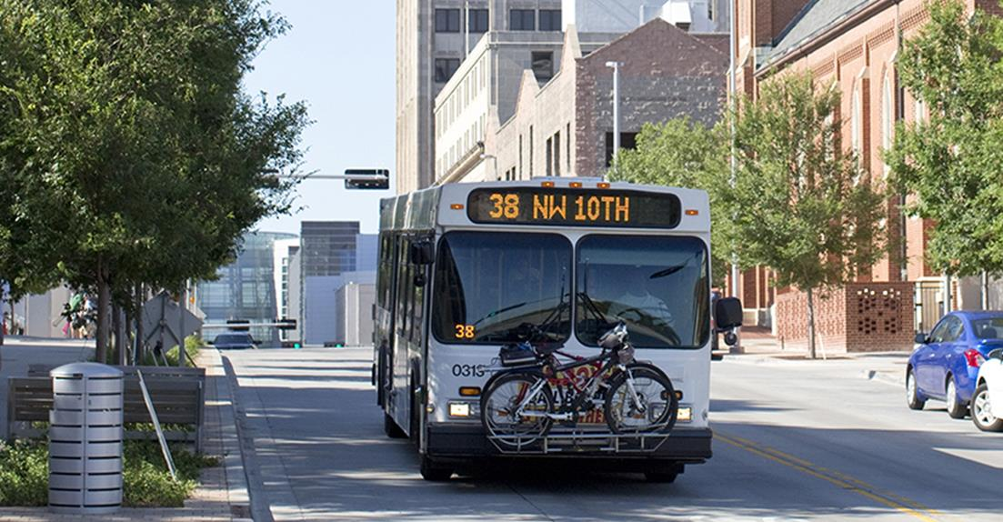 City of OKC bus