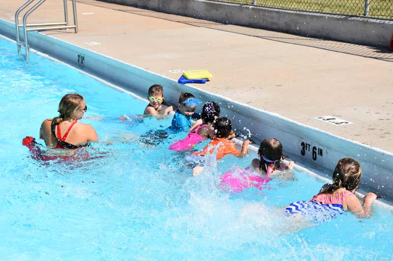 OKC Parks offers youth swimming lessons year-round