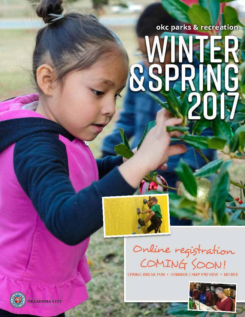 Winter/Spring Activities Guide Cover