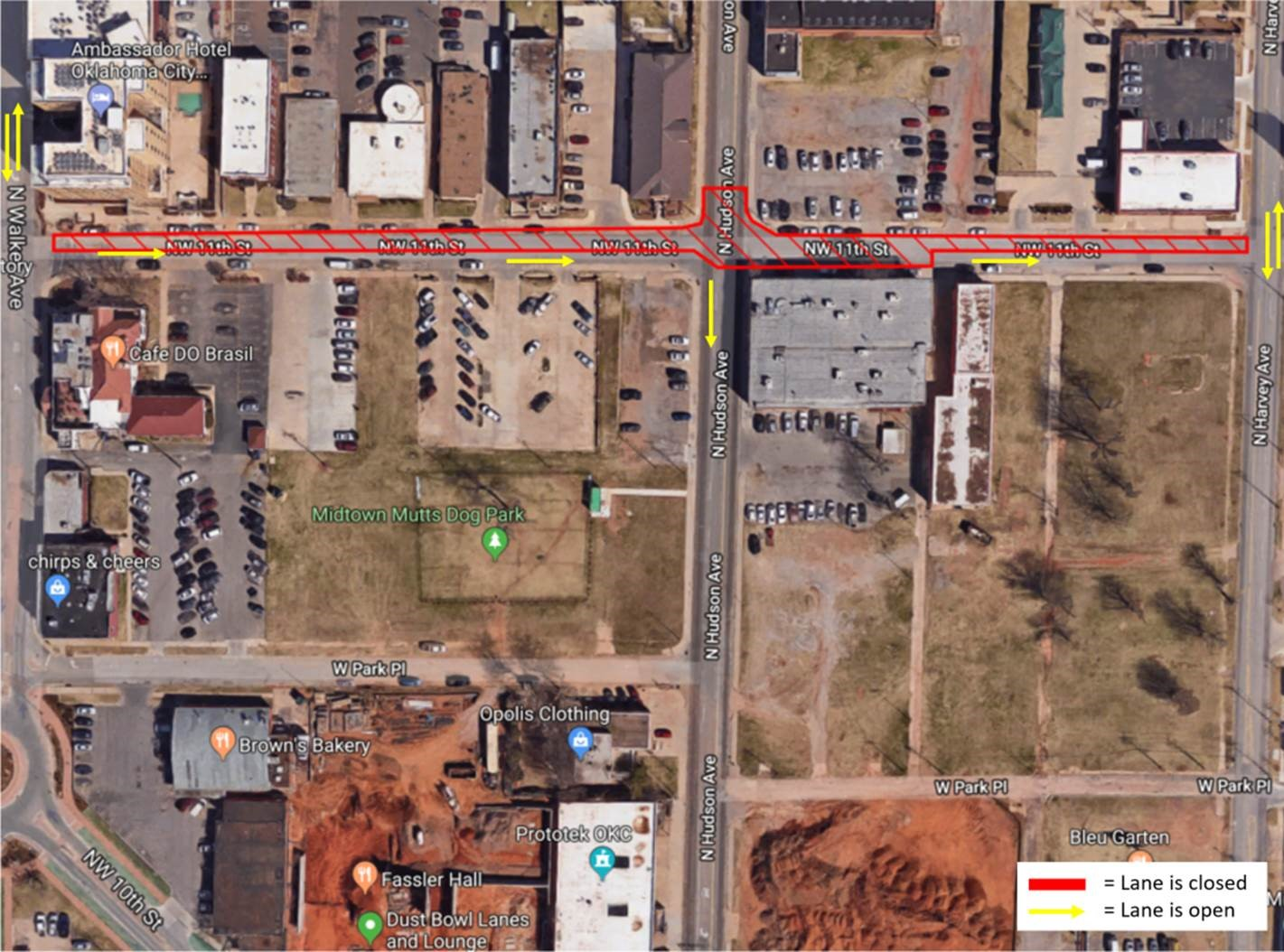 MAPS 3 Modern Streetcar Construction Update | City of OKC