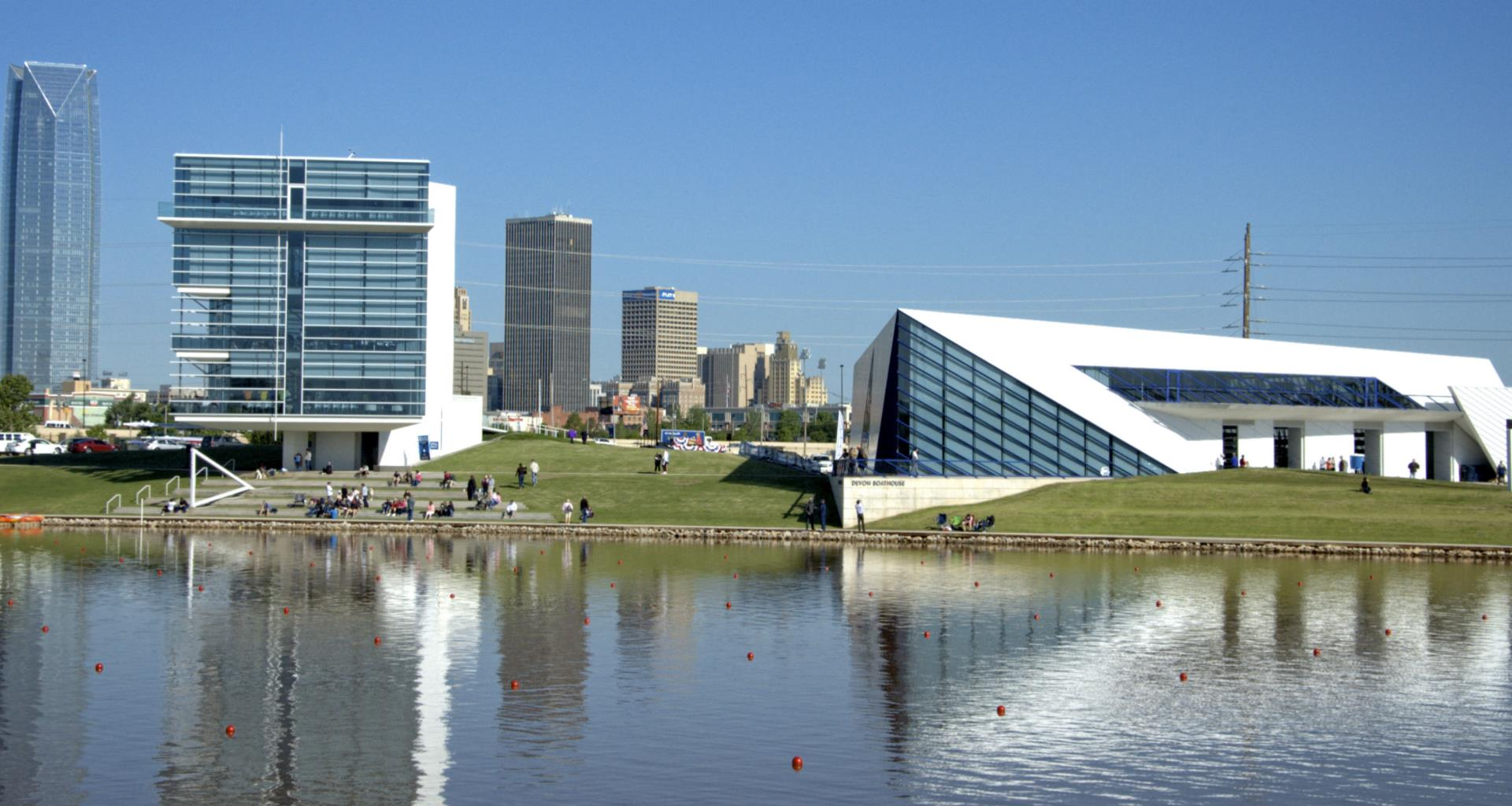 Oklahoma River and the Boathouse District