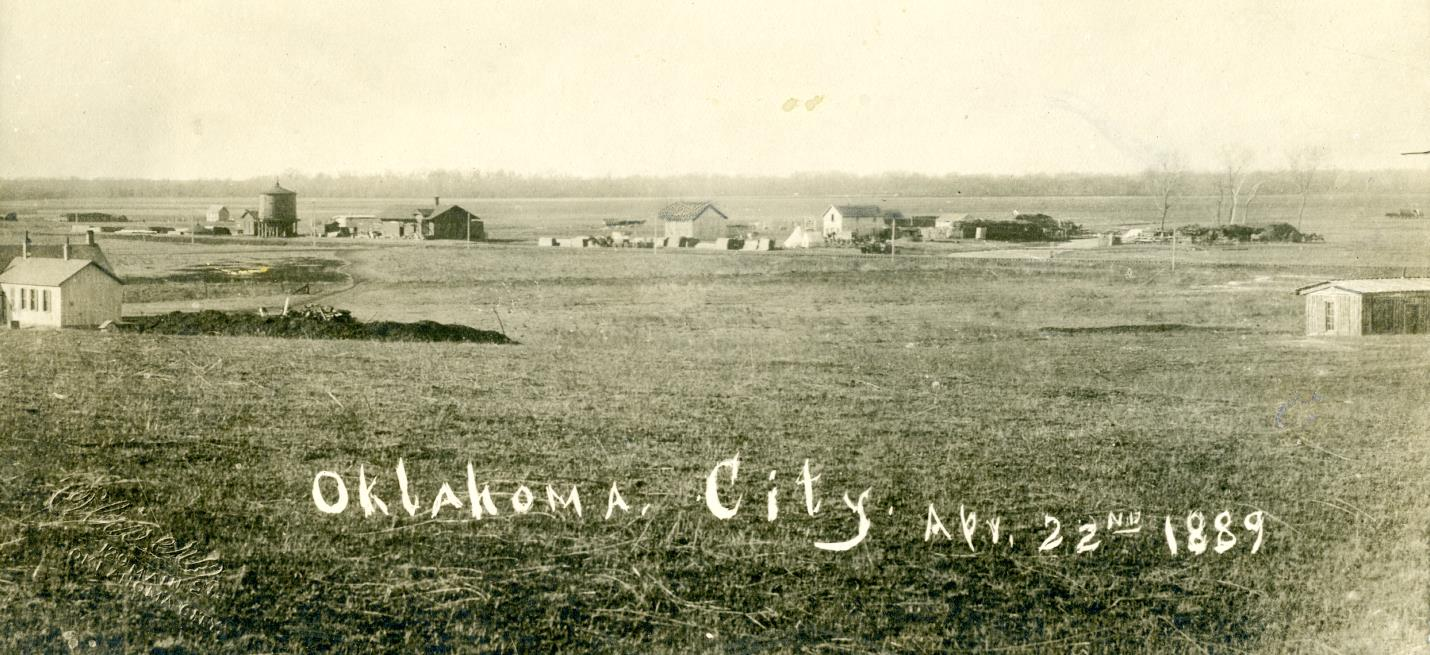 Oklahoma City before the land run 1889