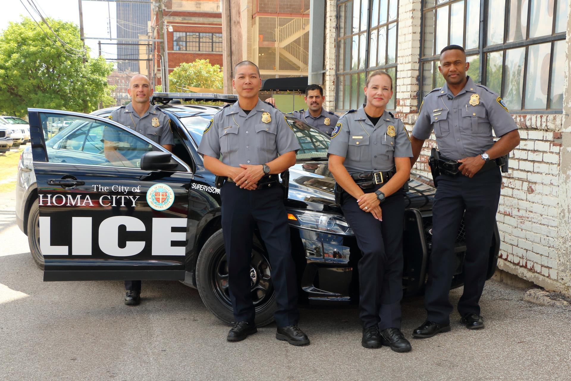 Police Officers in Bricktown