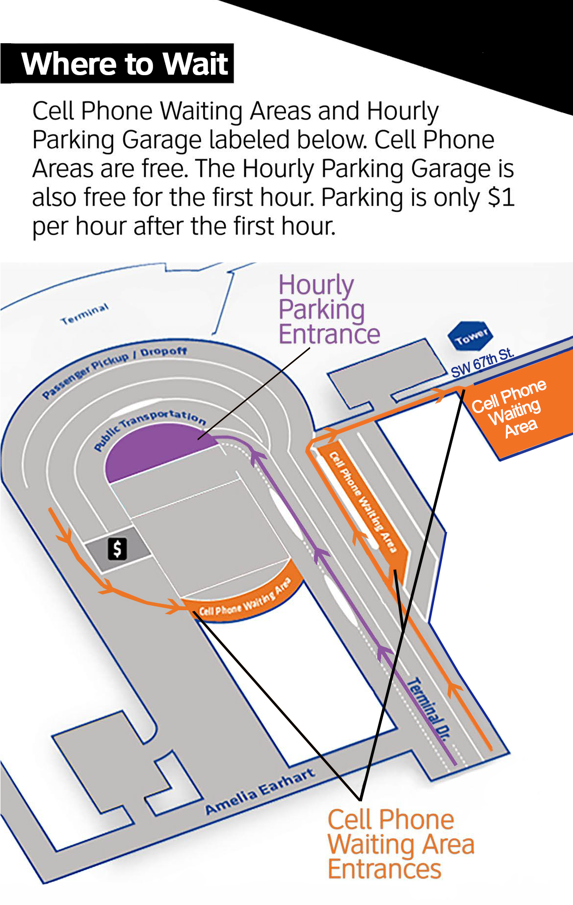will rogers world airport map Wrwa Adds New Cellphone Waiting Area News City Of Okc will rogers world airport map