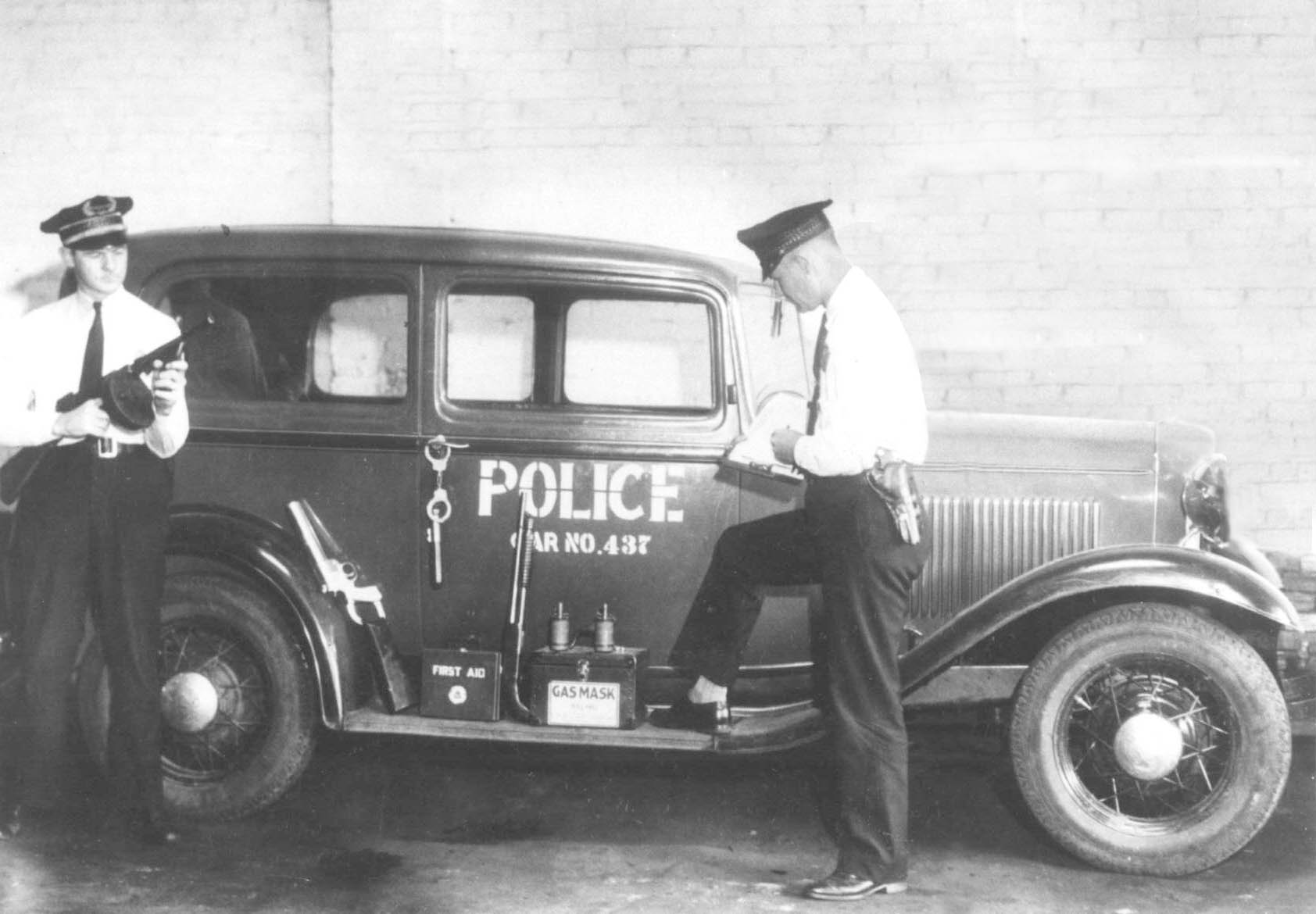 Old Police Car - Copy