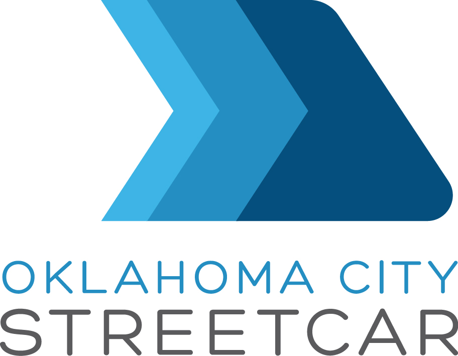 MAPS 3 Modern Oklahoma City Streetcar Clear Sky alternate logo
