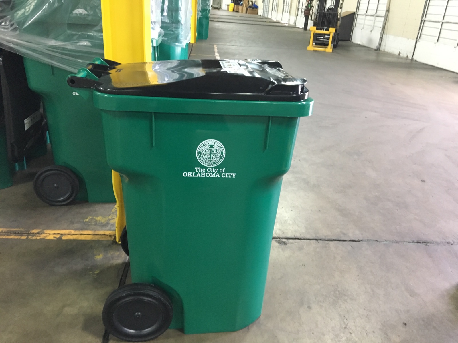 New Recycling Cart 2018